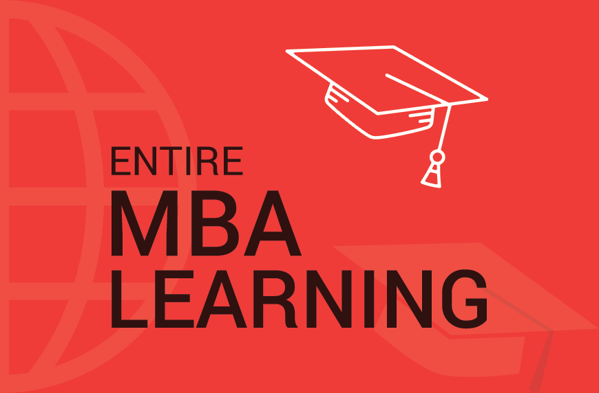 An Entire MBA Learning