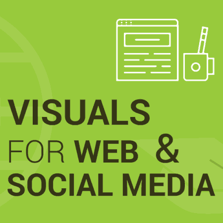 Learn Creating Visuals for Website or Digital Media