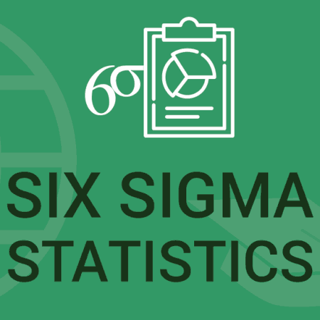 Use Minitab for Six Sigma Statistics