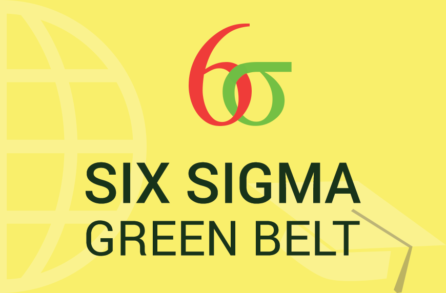 Six Sigma Green Belt Training and Certification – 3 Days Classroom Training