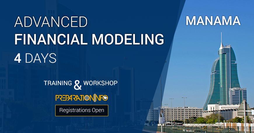 Financial Modeling Training in Manama