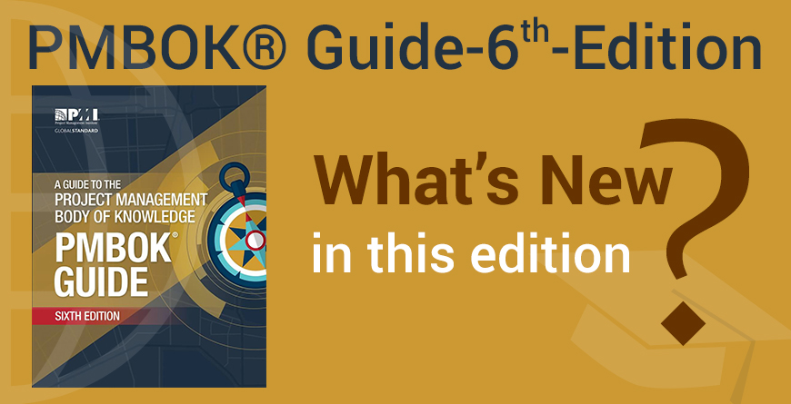 PMBOK GUIDE - SIXTH EDITION