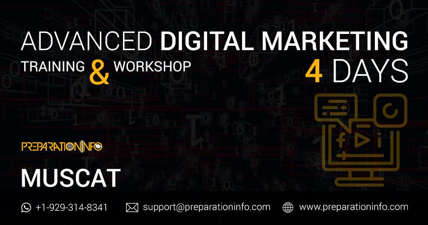 Digital Marketing Certification in Muscat