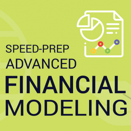 Speed-Prep: Advanced Financial Data Modeling – 3 Days Classroom Training