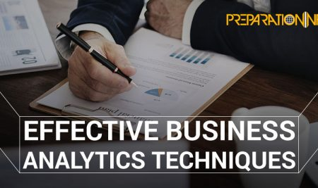 What are effective Business Analytics Techniques utilized by Business Professionals?
