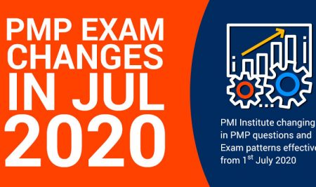 Recent Changes in the PMP Exam July 2020